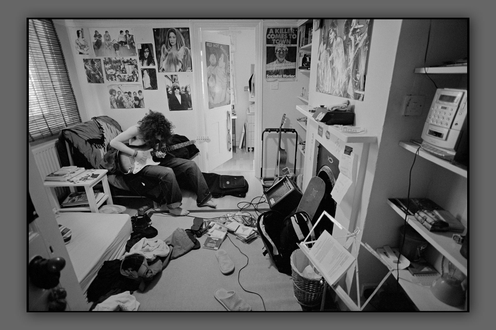 Danilo in his room