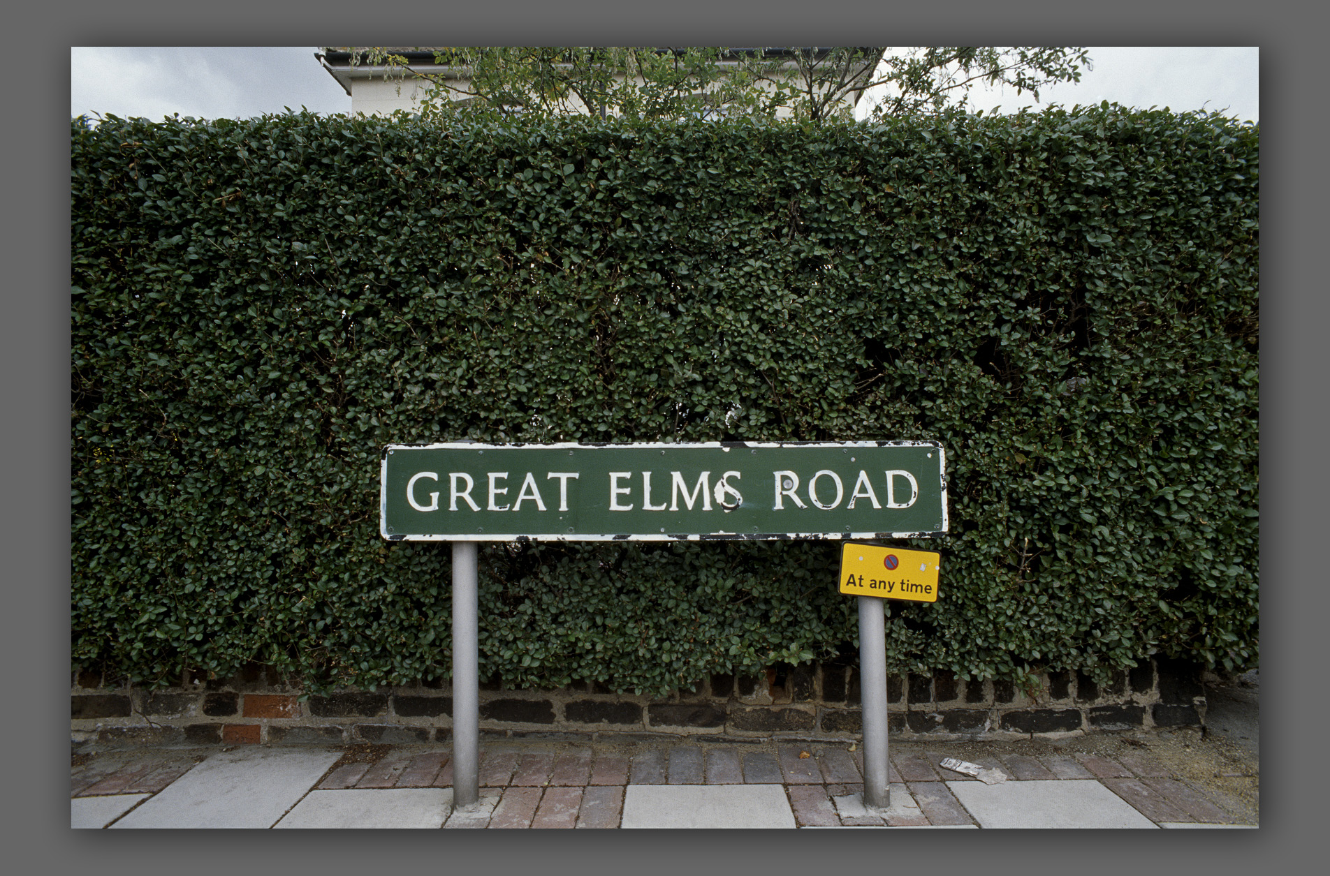 """Gt. Elms Road - from the """"Home"""" series"""