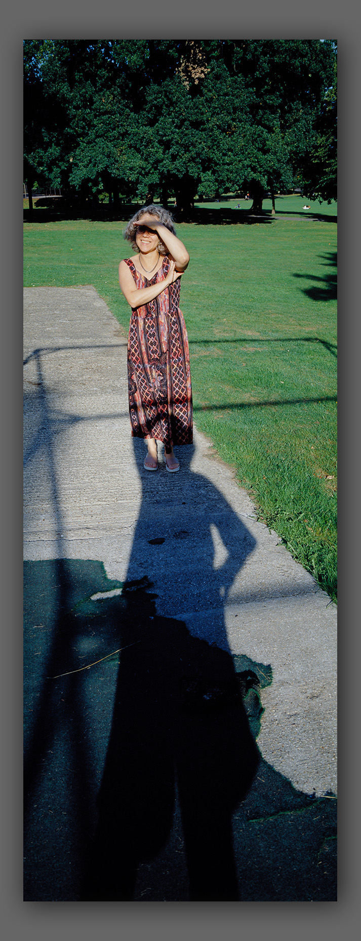 """Marisa with my Shadow - From the """"Little Poems - People"""" series"""