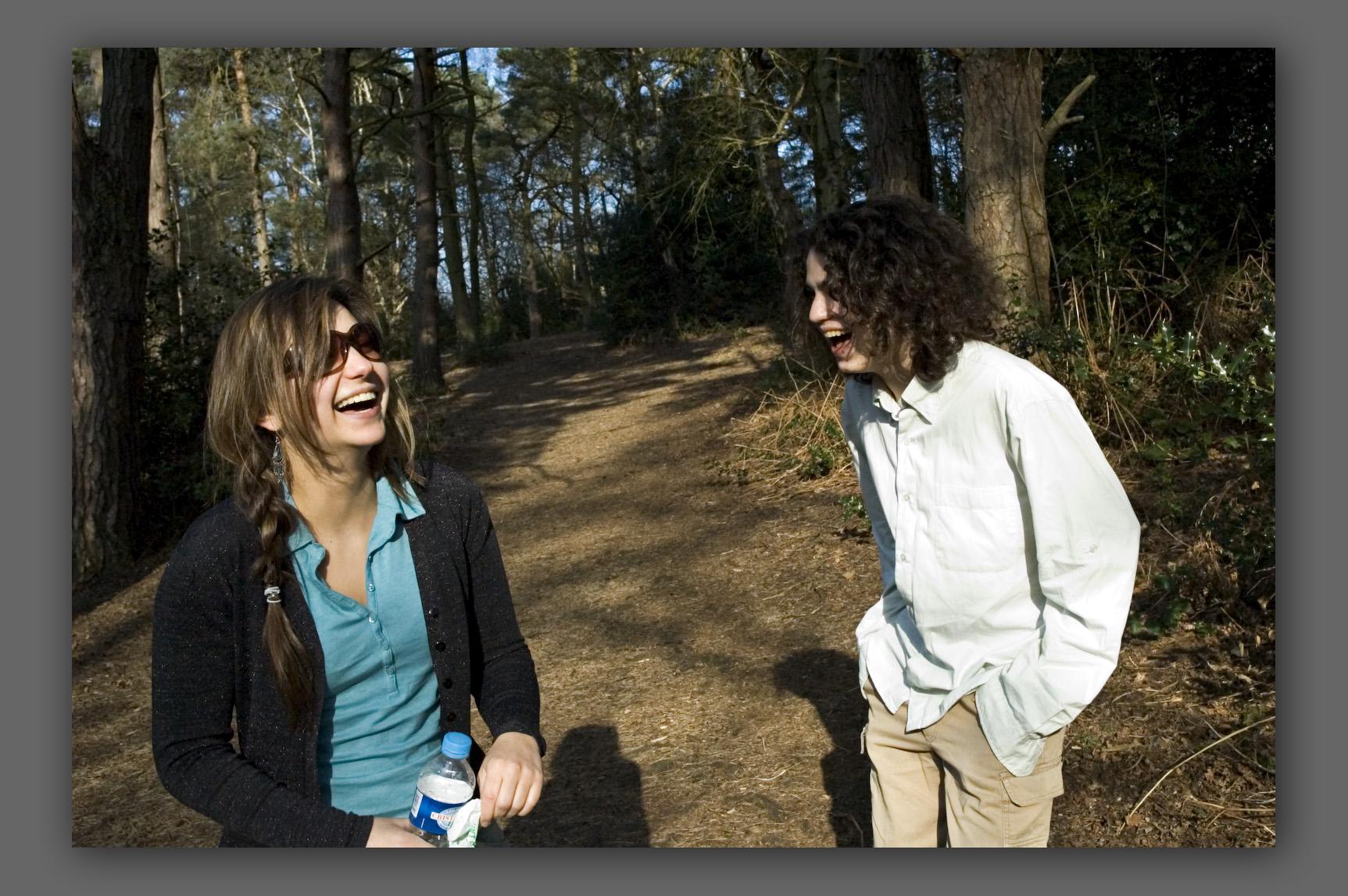 Clara and Danilo at Keston Common