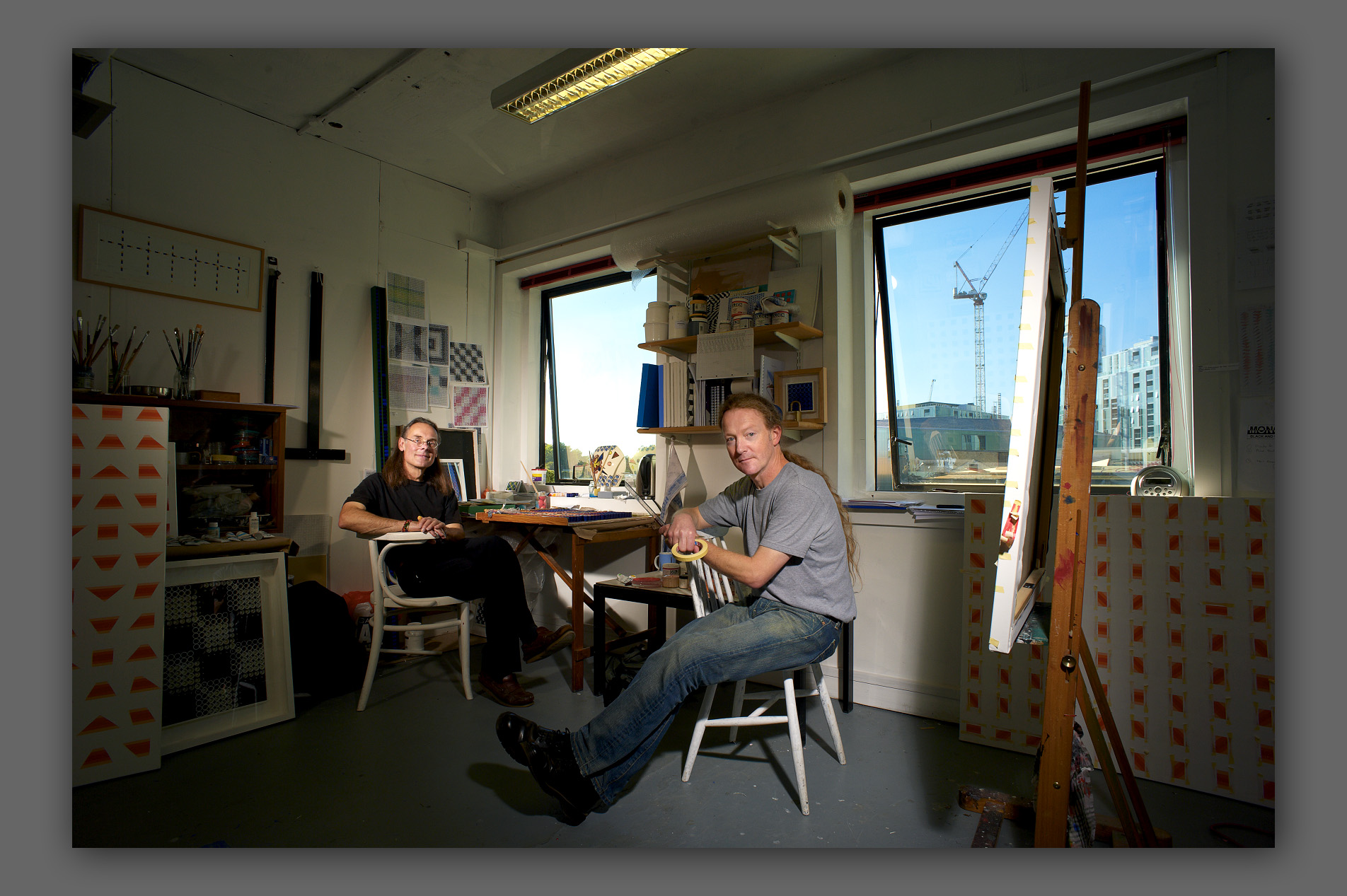 Patrick Morrissey and Clive Hans