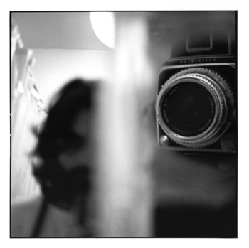 Self-portrait with Hasselblad
